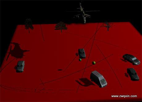 www.zwqxin.com  shadow map demo2