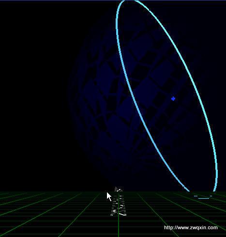 雷达追踪DEMO   www.zwqxin.com