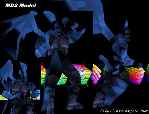 MD2格式模型的格式、导入与帧动画