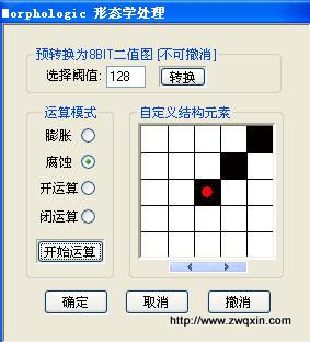 形态学处理 www.zwqxin.com